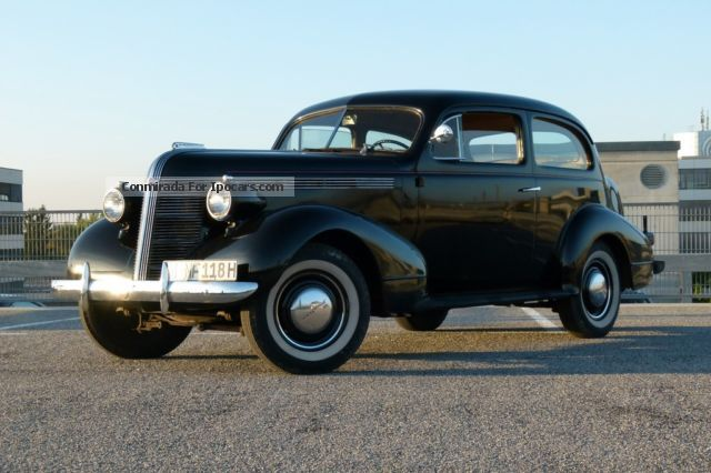 Pontiac  Deluxe Six 26cA Touring 1937 Vintage, Classic and Old Cars photo