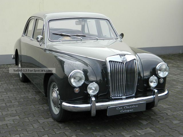 mg magnette zb saloon car photo  specs