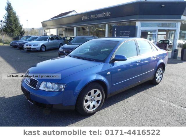 2001 Audi  A4 * Xenon * Automatic climate control * Euro4 * BOSE * Saloon Used vehicle photo