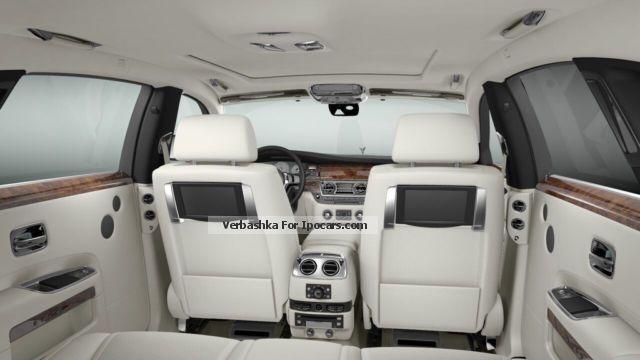 2014 Rolls Royce Rolls Royce Ghost Ewb Series Ii Car
