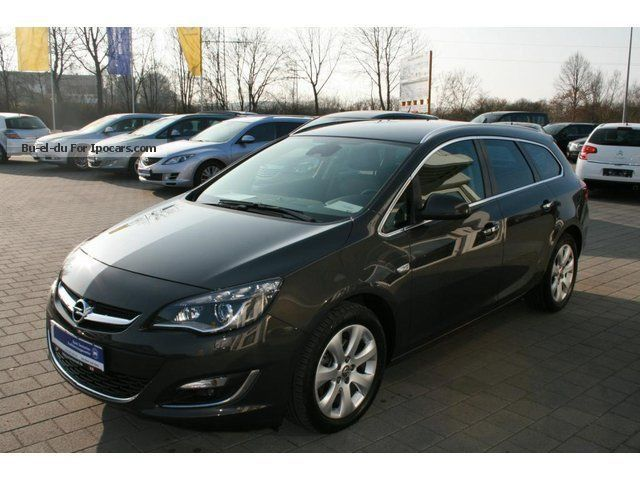 2013 Opel Astra J 1.7 CDTI innovation ecoFl. Start / St. CO2 - Car Photo and Specs