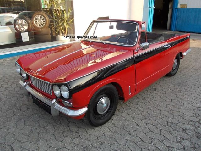 Triumph  Vitesse 6 convertible 1962 Vintage, Classic and Old Cars photo