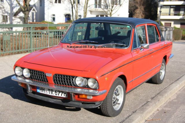 2012 Triumph  Dolomite Sprint VERY RARE!! Saloon Used vehicle (  Accident-free ) photo