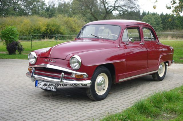 Talbot  Simca Aronde 1958 Vintage, Classic and Old Cars photo