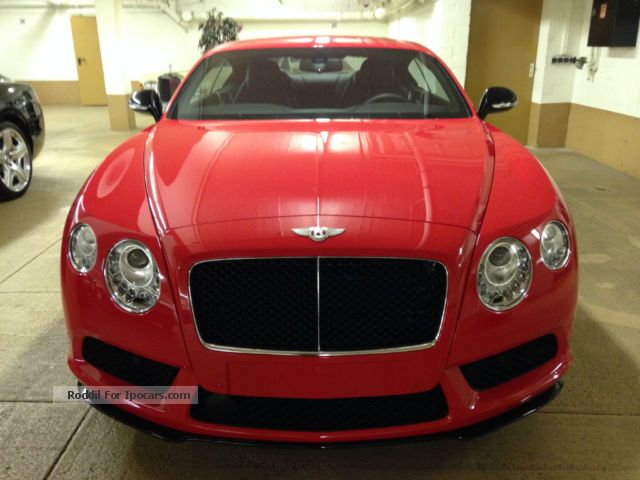 2014 Bentley  Continental GT V8 S Mulliner - BENTLEY BERLIN - Sports Car/Coupe Demonstration Vehicle photo