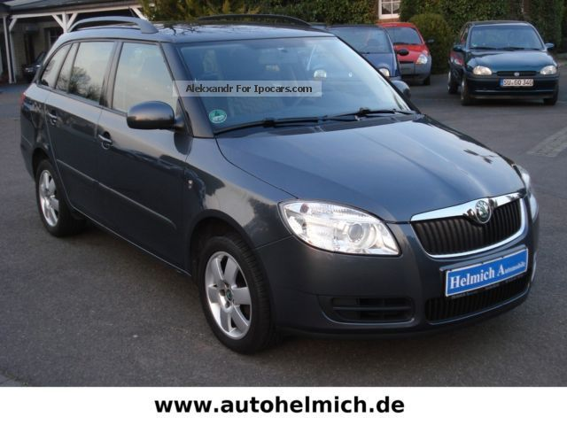 2009 Skoda  Fabia Combi 1.4 TDi Ambiente / warranty / 1 Preass. Estate Car Used vehicle(  Accident-free) photo