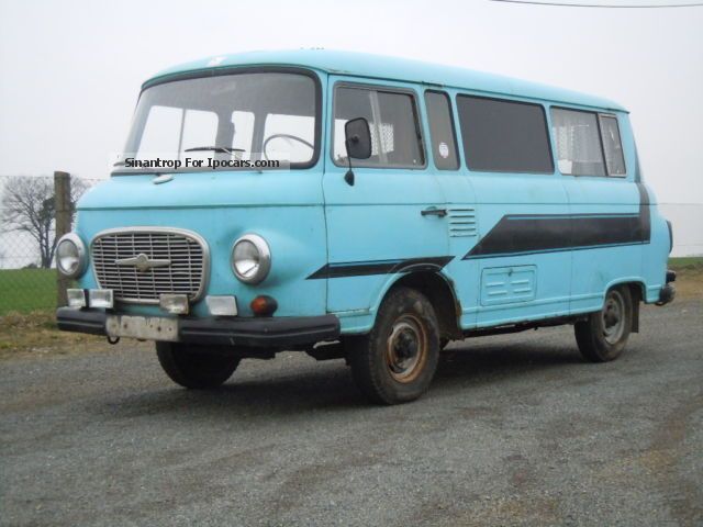 Other  Barkas B1000 Camper Bus IFA 1974 Vintage, Classic and Old Cars photo