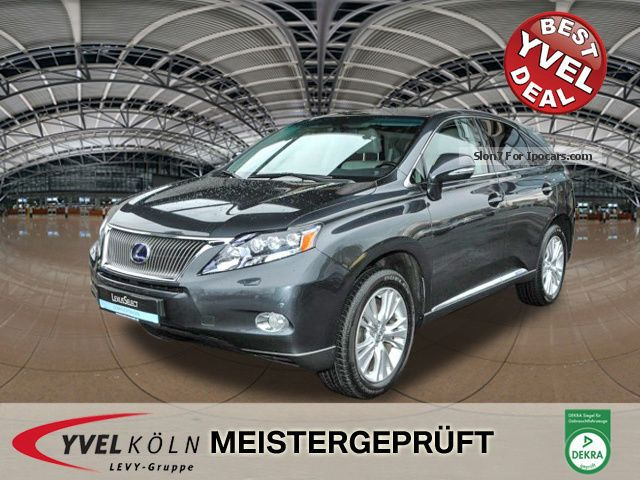Lexus  RX450h AMBIENCE air suspension SSD, Leather, Navi, HuD 2011 Hybrid Cars photo