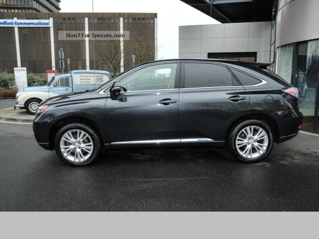 2011 Lexus Rx450h Ambience Air Suspension Ssd Leather Navi Hud Car Photo And Specs