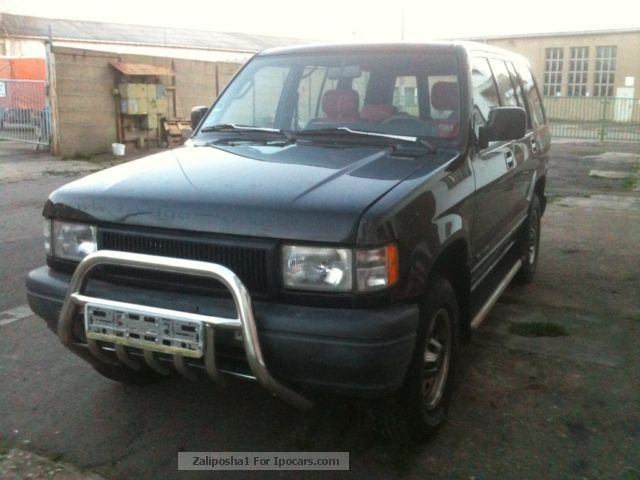 1994 isuzu trooper 3 2 v6 automatic car photo and specs. Black Bedroom Furniture Sets. Home Design Ideas