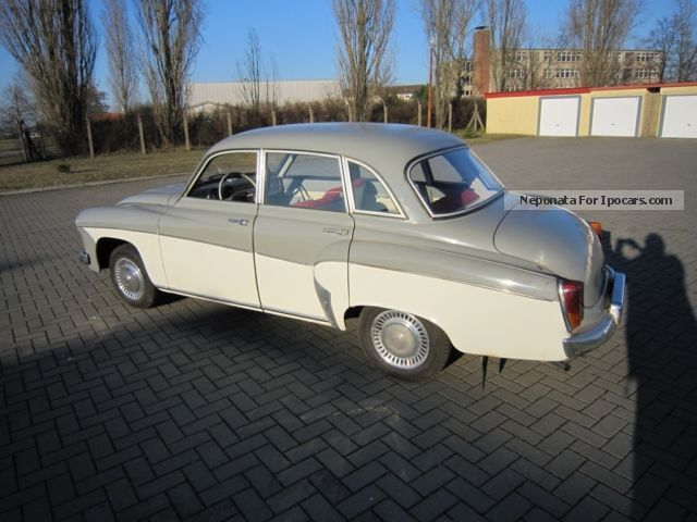 Wartburg  312 Limousine 1966 Vintage, Classic and Old Cars photo