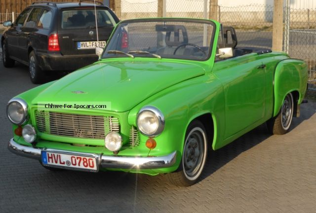 1966 Wartburg  312 Cabriolet / Roadster Used vehicle(  Accident-free) photo