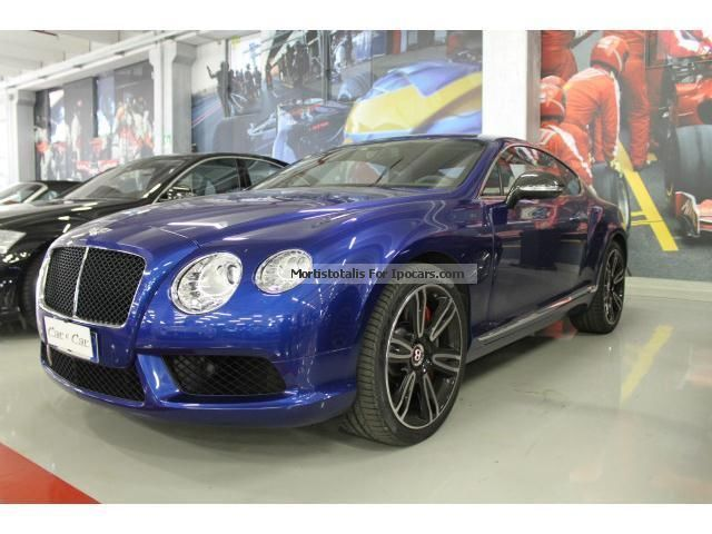 2014 Bentley  Continental GT V8 Subentro Leasing Sports Car/Coupe Used vehicle photo