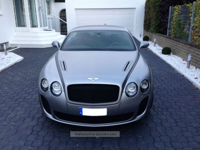 2012 Bentley Continental Supersports Light Gray Satin Np