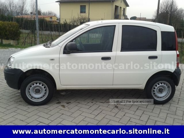 2010 fiat panda 1 3 multijet 16v 4x4 car photo and specs. Black Bedroom Furniture Sets. Home Design Ideas