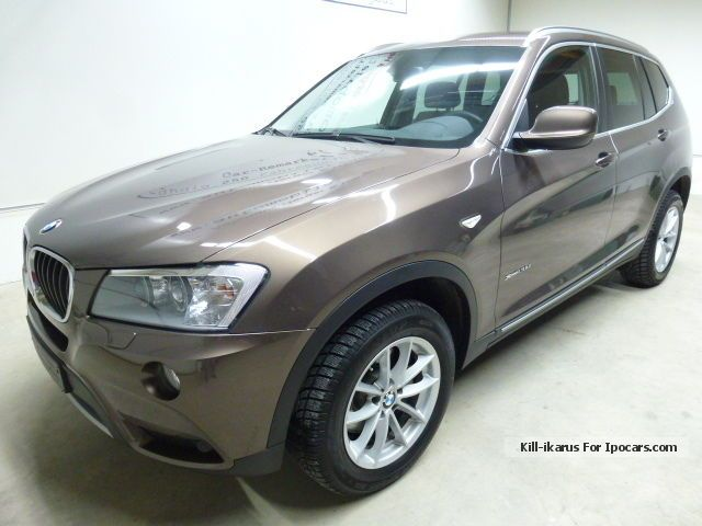 2013 BMW  X3 xDRIVE 2.0 D AUT. | 01-13 | NP53, 6t € | 27% | 1H | D.FZG Off-road Vehicle/Pickup Truck Employee's Car photo