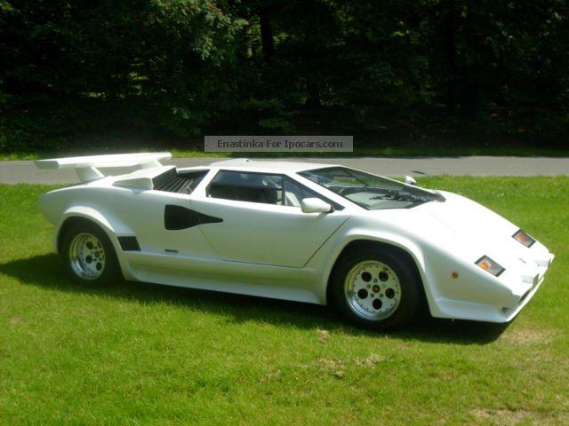 1989 Lamborghini Countach REPLICA Sports Car/Coupe