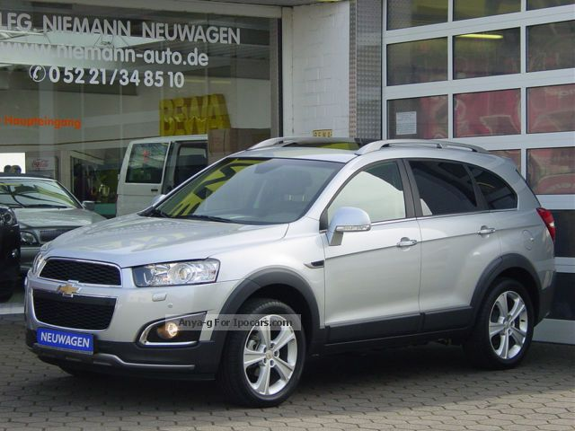 2012 Chevrolet  Captiva 2.2TD LTZ 4WD NEW m.10.000. DISCOUNT = 27% Off-road Vehicle/Pickup Truck New vehicle photo