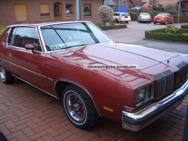 Oldsmobile  Cutlass supreme 5.7 l diesel, rare, 1979 Vintage, Classic and Old Cars photo
