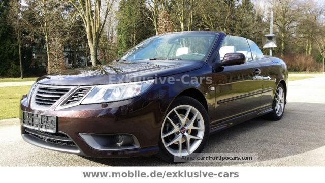 Saab  9-3 2.0t Convertible BiFuel * leather * Navi * Xenon 2011 Liquefied Petroleum Gas Cars (LPG, GPL, propane) photo