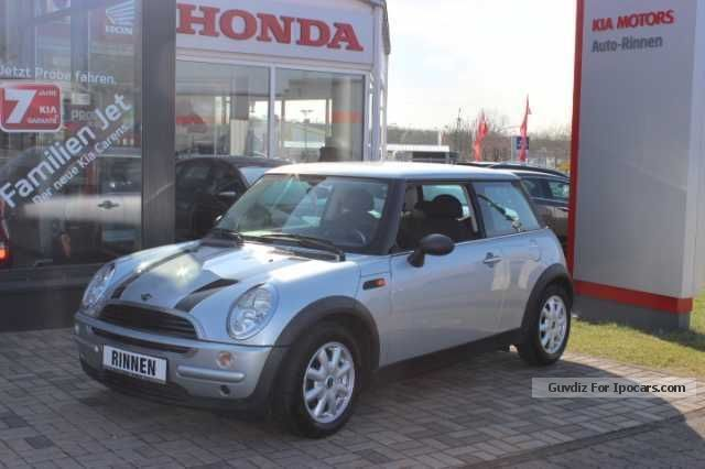 2004 MINI  ONE 1.6 Air conditioning Sports Car/Coupe Used vehicle photo