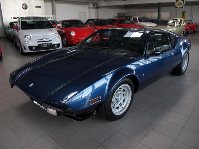 DeTomaso  Pantera GTS * European delivery * ex Dalida * 1976 Vintage, Classic and Old Cars photo