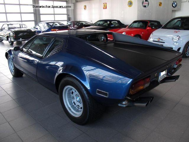 Audi European Delivery >> 1976 DeTomaso Pantera GTS * European delivery * ex Dalida * - Car Photo and Specs