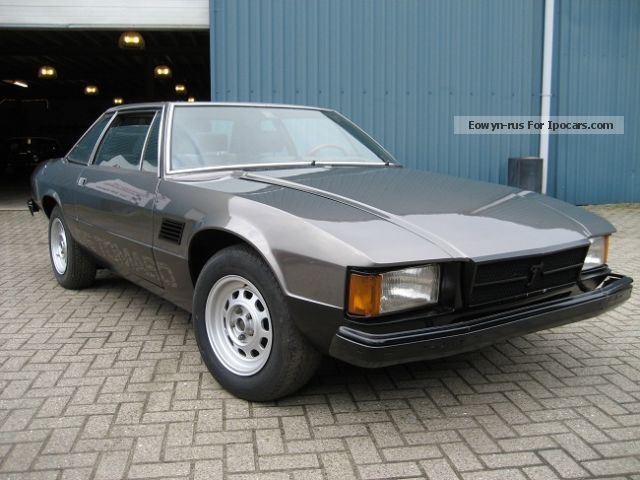 DeTomaso  Longchamp 1979 Vintage, Classic and Old Cars photo