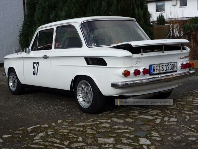 NSU  1200 C Racer better than TT 1971 Race Cars photo