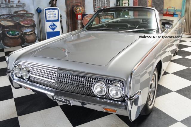 1963 Lincoln  Continental Cabrio / Suicide Doors / Incl. TUV u Cabriolet / Roadster Classic Vehicle photo