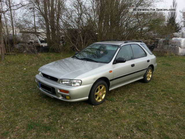 2000 Subaru  Impreza 1.6 4WD technical approval to 09.2015 Estate Car Used vehicle (  Accident-free ) photo