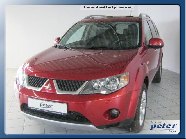 2012 Mitsubishi  Outlander Instyle / leather / Xenon / wheel / Fdbk. / AHK Off-road Vehicle/Pickup Truck Used vehicle(  Accident-free) photo