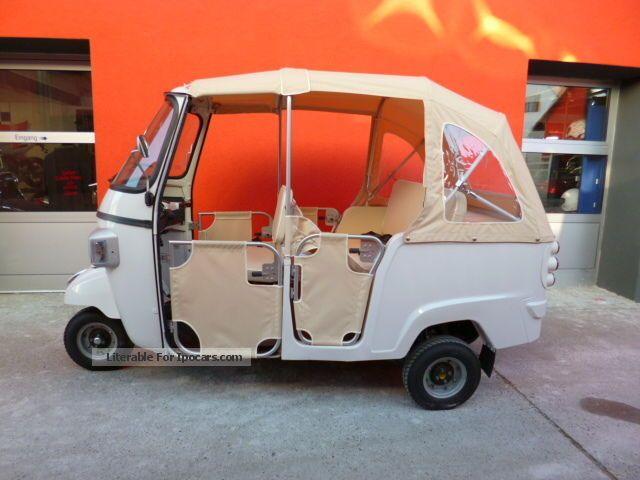 2013 Piaggio  Calessino 200 presenters Cabriolet / Roadster Used vehicle photo