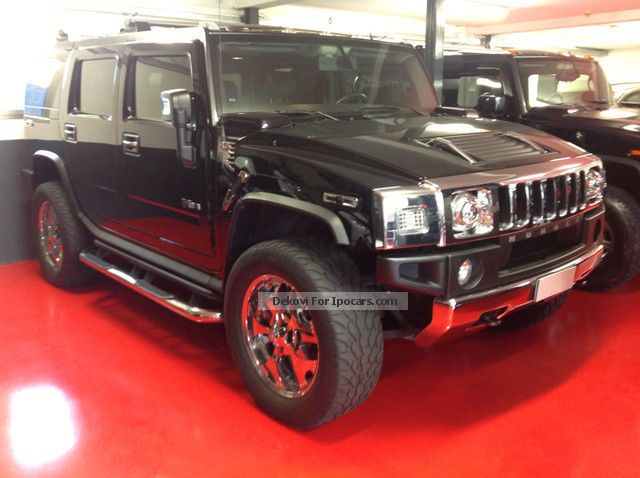2008 Hummer  H2 6.2 V8 aut SUV Luxury SPINNERS Off-road Vehicle/Pickup Truck Used vehicle photo