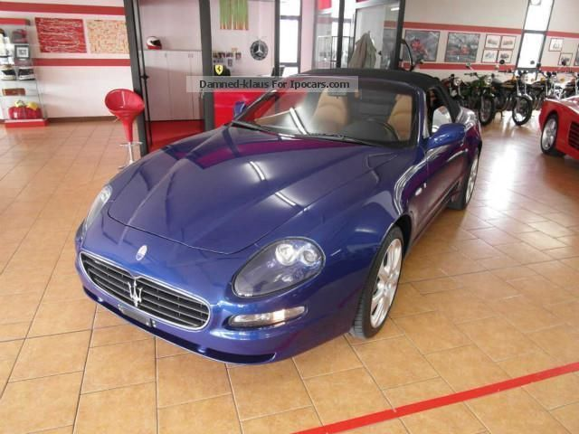 2005 Maserati  Coupe 4.2 V8 32V CABRIOLET Cambiocorsa Cabriolet / Roadster Used vehicle photo