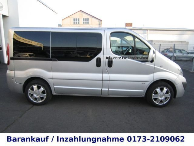 2008 opel vivaro 2 5 cdti life westfalia 6 sitz car photo and specs. Black Bedroom Furniture Sets. Home Design Ideas