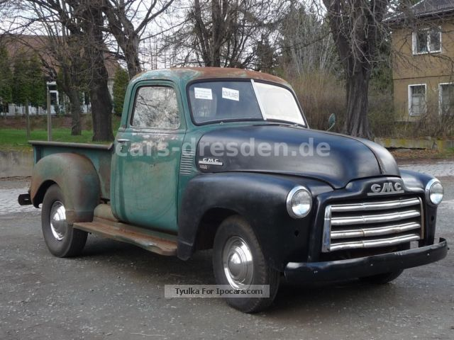 Chevrolet  100 GMC PicK UP PROJECT! Rarity 1950 Vintage, Classic and Old Cars photo
