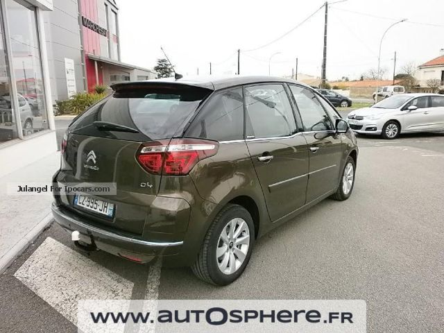 2013 citroen c4 picasso 1 6 hdi fap 110ch exclusive car photo and specs. Black Bedroom Furniture Sets. Home Design Ideas