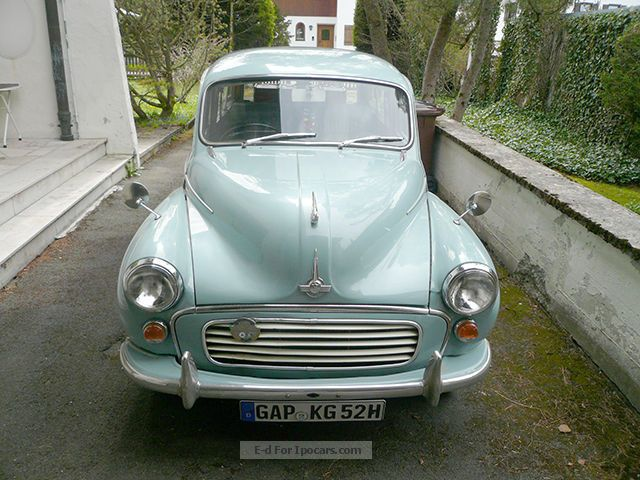 Austin  Morris 1000 Traveller Minior 1965 Vintage, Classic and Old Cars photo