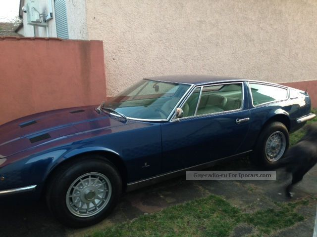 Maserati  Indy America 4900, a unique state 1974 Vintage, Classic and Old Cars photo