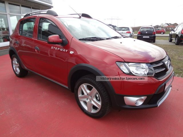 2012 dacia sandero stepway tce 90 navi immediately car photo and specs. Black Bedroom Furniture Sets. Home Design Ideas