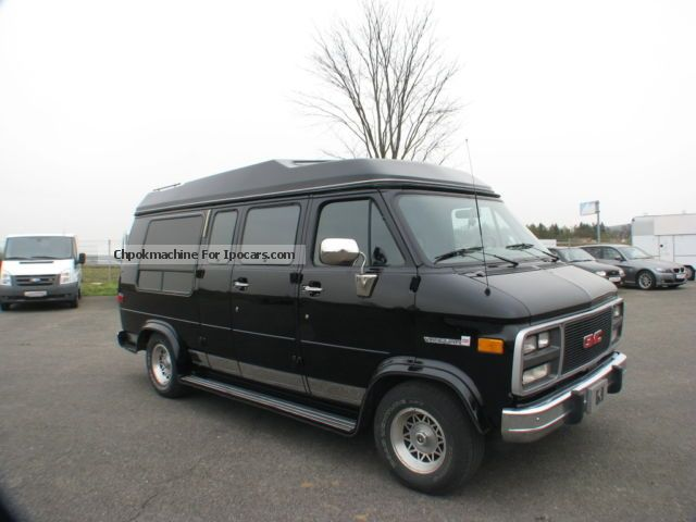 1996 gmc vandura 2500 explorer ltd auto gas lpg car photo and specs. Black Bedroom Furniture Sets. Home Design Ideas