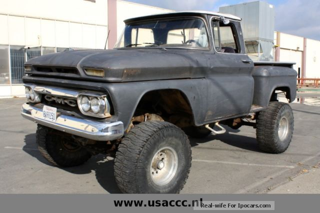 GMC  Pick up truck BIG FOOT 4x4 ** SPECIAL ** 1963 Vintage, Classic and Old Cars photo