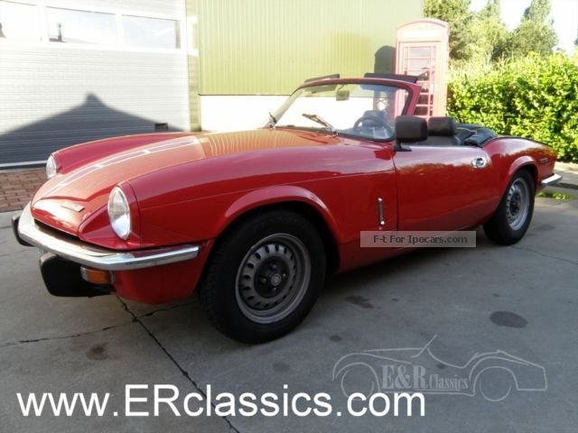 1974 Triumph  MKIV overdrive restored Cabriolet / Roadster Classic Vehicle (  Accident-free ) photo