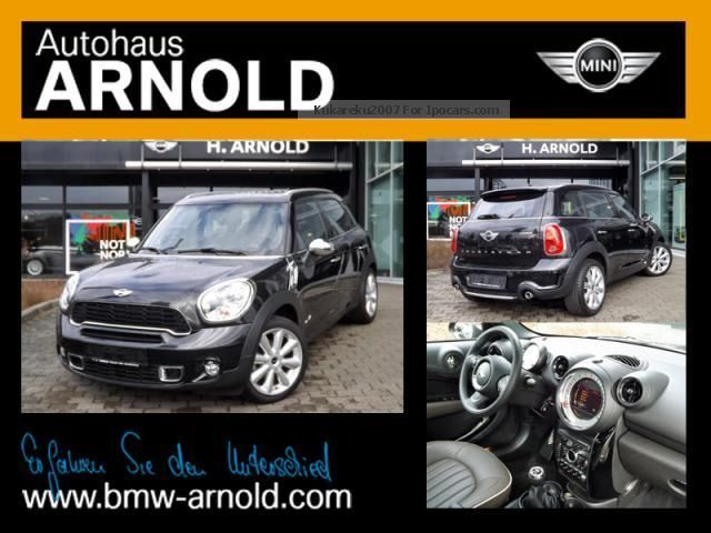 2013 MINI  Cooper SD Countryman ALL4 (Chili Bluetooth USB) Off-road Vehicle/Pickup Truck Used vehicle photo