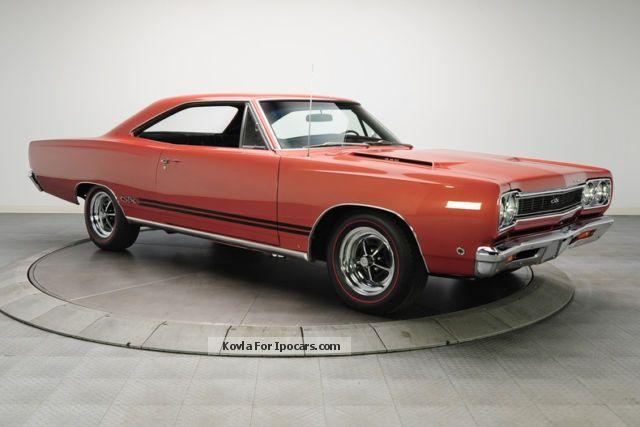 Plymouth  GTX 440 Super Commando 1968 Vintage, Classic and Old Cars photo