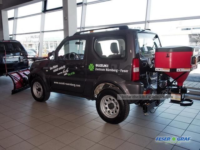 2013 suzuki jimny 1 3 comfort 4x4 eu5 boss snow plow. Black Bedroom Furniture Sets. Home Design Ideas