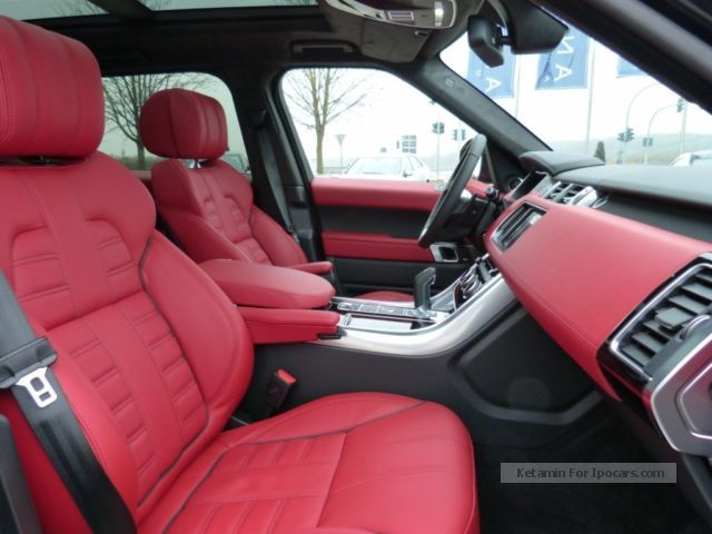Range Rover Sport 2014 Autobiography Red