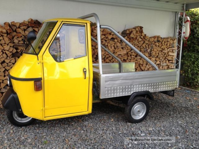1995 Piaggio  APE 50 flatbed long TLT 6T Other Used vehicle photo