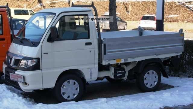 2013 Piaggio  Porter Tipper 1.2 Diesel Winterdienstvorrüstung Off-road Vehicle/Pickup Truck Pre-Registration(  Accident-free) photo